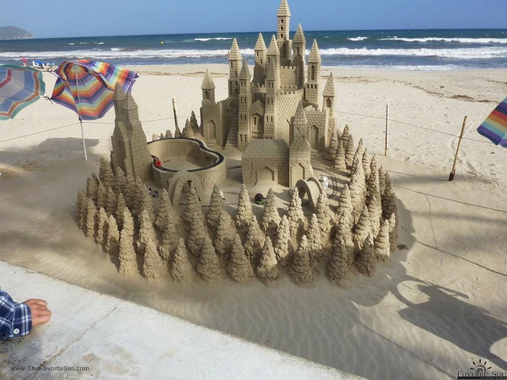 Extra Toys....Like a Train! Have you considered a Train in your sandcastle?